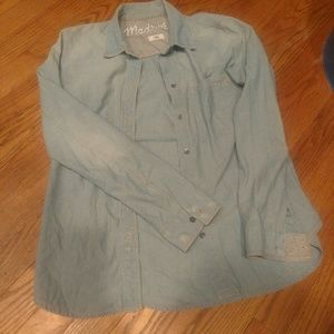 Madewell Chambray button-down